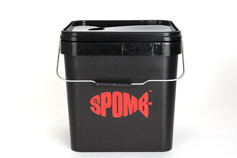Spomb 17ltr Square Bucket Storage